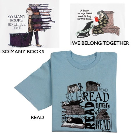 Edward Gorey: So Many Books T-Shirt