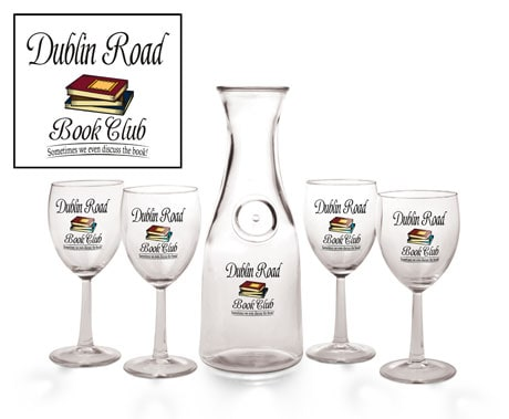 Personalized Book Club Carafe