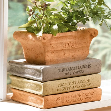 Books Planter