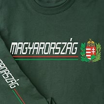 International Pride Long Sleeve Shirt - Magyarorszag (Hungary)