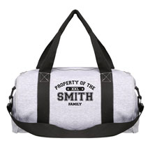 "Personalized Property of ""Your Name"" Sports Duffel Bag"