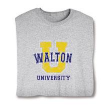 "Personalized ""Your Name"" Big ""U"" University Shirt"