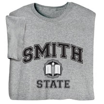 "Personalized ""Your Name"" State School Shirt"