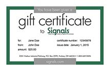 Gift Certificate - Email
