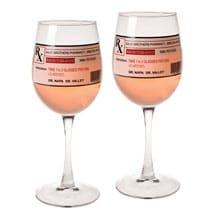 Prescription Wine Glases - Set of 2