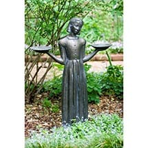 Savannah's Bird Girl 24-inch Statue Without Pedestal