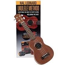 Hal Leonard Ukulele Method Kit with CD & DVD