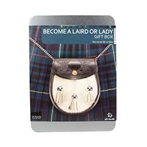 Become a Scottish Laird or Lady Gift Box - Real Deed To One Square Foot Of Dunan Castle