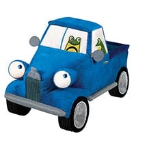 Little Blue Plush Truck Toy