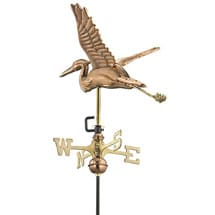Heron in Flight Weathervane