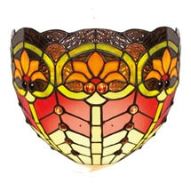 Art Glass Wall Sconce - Desert Flower
