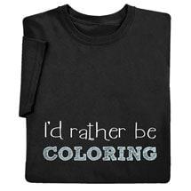 I'd Rather Be Coloring Sweatshirt