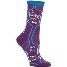 Sassy Socks - I Love My Job
