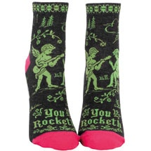 You Rocket Women's Ankle Socks