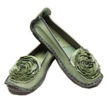 Roses Loafers - Full Grain Leather - Designed In France