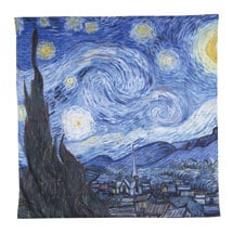 Van Gogh Starry Night Painting Duvet Cover