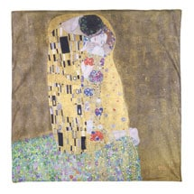 Klimt The Kiss Painting Duvet Cover  (Full/Queen)