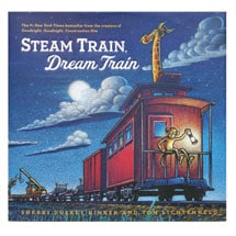 Steam Train, Dream Train Hardcover Book