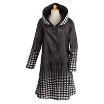 Reversible Illusion Raincoat