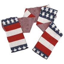 Americana Recycled Cotton Scarf