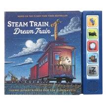 Steam Train, Dream Train Board Book With Sounds