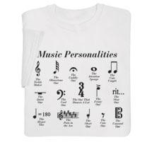 Music Personalities Shirts