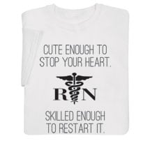 Shirts For Nurses - Start/Stop Your Heart