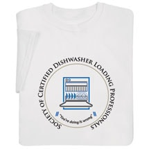 Certified Dishwasher Shirts