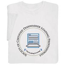 Certified Dishwasher Shirts