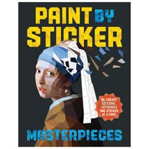 Paint By Sticker Masterpieces