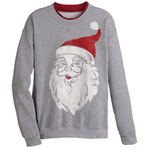 Vintage Santa Sweatshirt