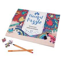 Personalized Pieceful Puzzle: Mandala
