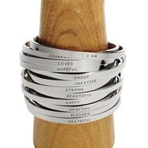 I Am… Stacking Cuff Bracelet