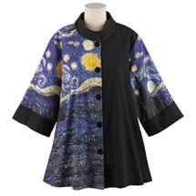 Starry Night Swing Jacket