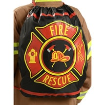 Firefighter Drawstring Back Pack