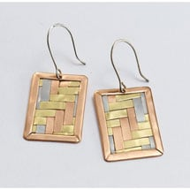 Woven Metals Earrings