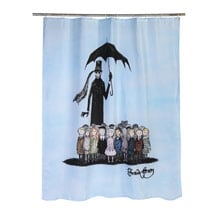 Edward Gorey Gashlycrumb Tinies Shower Curtain