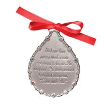 "Engraved ""Come With Me"" Ornament"