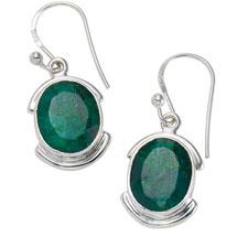 Grand Gemstone Earrings