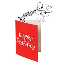 Endless Singing Birthday Joke Greeting Card