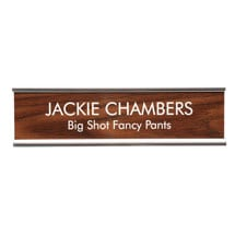 Personalized Desk Sign