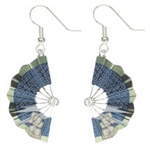 Kimono Fan Earrings