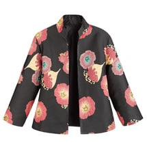 Simple Elegance Poppies Jacket