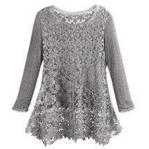 Gray Gardens Lace Tunic
