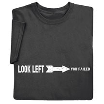 Look Left Shirts