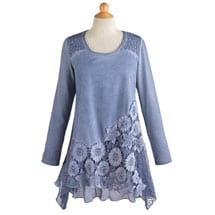 Moonlit Garden Lace Tunic