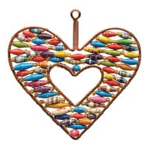 Handcrafted Heart Ornament