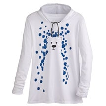 Marushka Snow Bear Hooded Tee