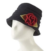 Fleece Spiral Brim Hat