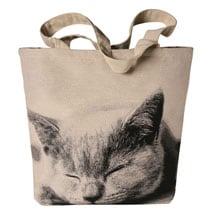 Sleeping Cat Tote
